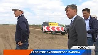 В ЗКО строят дорогу Аксай - Жымпиты