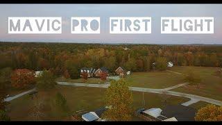 DJI MAVIC PRO - My First Flight in rural South Carolina at Sunset