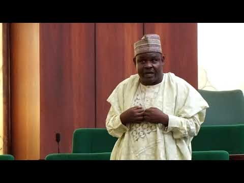 Hon Mohammed Gudaji Kazaure,8 March 2018   Motion on need for Nigeria to press for progress as the w