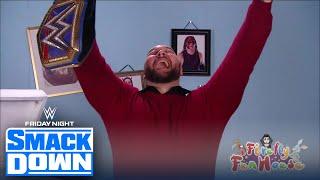 Wyatt interrupts Daniel Bryan on Miz TV, accepts Universal title challenge | FRIDAY NIGHT SMACKDOWN