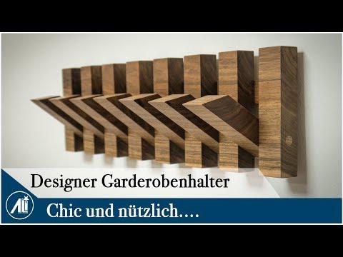 STYLISCHER GARDEROBENHALTER zum selber bauen.