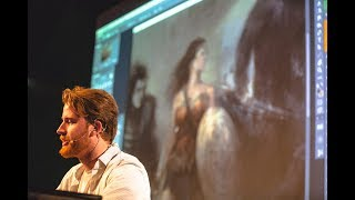 Illustrating the History of Wonder Woman with Houston Sharp