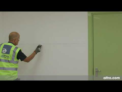 AltroWalls Installation Application Tape