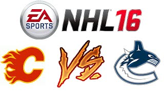 NHL 16 - Ranked Online Versus #7 - A Hacker!? - Video Youtube