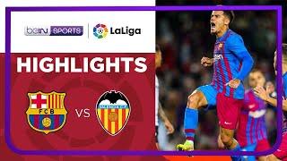 Barcelona 3-1 Valencia Pekan 9