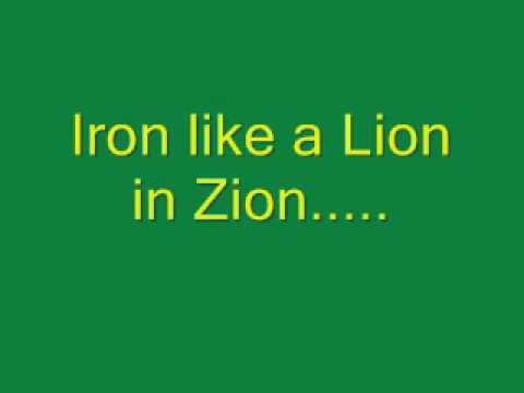Bob Marley - Iron Lion Zion (Lyrics)
