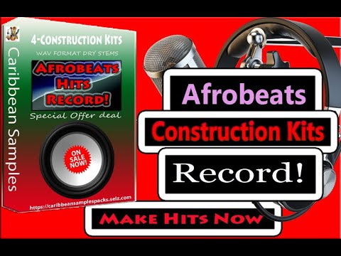 Afro-beat Hits Record! 4 Construction/Special Offer Deal For You!