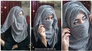 Easy Layer Hijab Tutorial With Niqab | Be You And Beauty