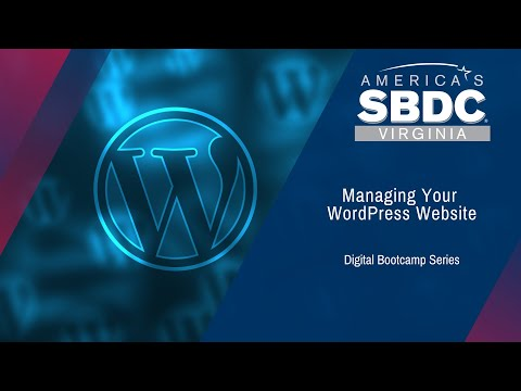 Manage Your WordPress Website
