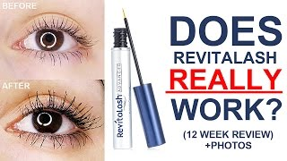 HOW TO GROW LONG LASHES! | Revitalash Review