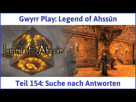 Legend of Ahssûn Teil 154: Suche nach Antworten - Let's Play Deutsch