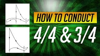 How to Conduct Music: Lesson #2-Conduct in 4/4, 3/4 & 2/4 (Simple Meters)