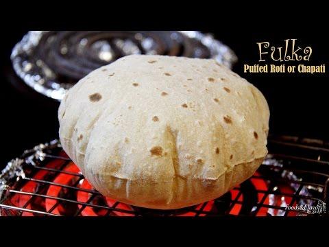 How to Make Roti, Phulka, Chapati Recipe on Electric Stove, Tawa | Make puffed Roti, Chapati in USA