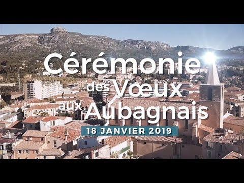 Cérémonie des voeux 2019 à Aubagne