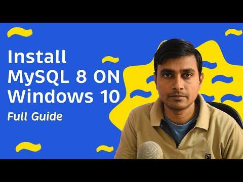 Download & Install MySQL 8.0.11 on Windows 10 Operating System