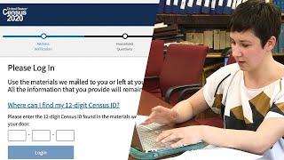Como completar el censo por el internet