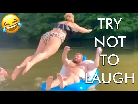 Download [2 HOUR] Try Not to Laugh Challenge! Funny Fails 😂 | Fails of the Week | Fun Moments | AFV HD Mp4 3GP Video and MP3