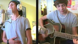 Never Let You Go Justin Bieber - Austin Mahone Live Acoustic Cover