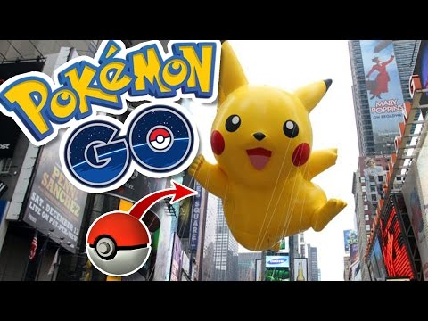 PIKACHU STARTER EASTER EGG!! | Pokémon GO in NYC