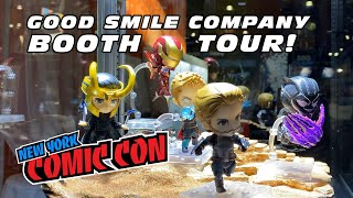 Good Smile Company Booth At New York Comic Con 2019 NYCC