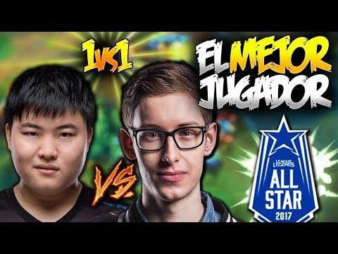 EL MEJOR JUGADOR DE 1vs1!! FINAL: UZI vs BJERGSEN   ALL-STAR MEJORES MOMENTOS