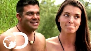Spooning A Stranger, And Other Awkward Moments | Naked And Afraid