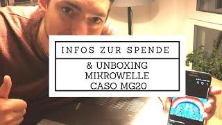 Küchenstory/Vlog Infos und Unboxing Mikrowelle CASO MG20 menu | Deutsch und Farbe HD | Liebe an alle