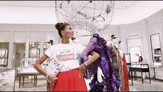 Giovanna Battaglia Takes Over Bergdorf Goodman