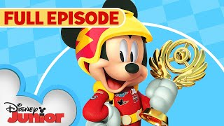 Goofy Gas! 🏎️  / Little Big Ape 🐵 | Full Episode | Mickey and the Roadster Racers | Disney Junior