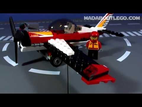 Vidéo LEGO City 60019 : L'avion de voltige