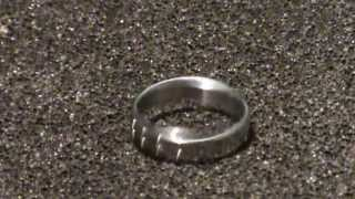 Making a Wedding Ring the Machinist way