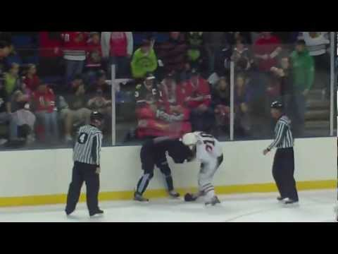 Brandon Bollig vs. Jeffrey Foss