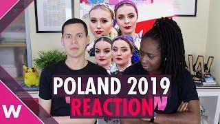 "Poland | Eurovision 2019 reaction video | Tulia ""Pali Sie"" (Fire of Love)"
