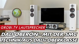 Dali OBERON Lautsprecher mit patentierter SMC Technik - ausführliche Vorstellung