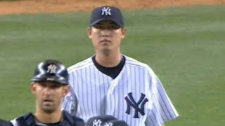 Chien-Ming Wang Completes His First Career Shutout