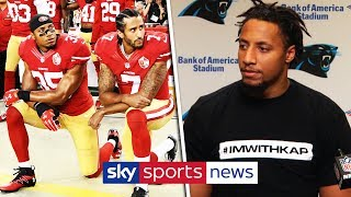 Eric Reid speaks out on lawsuit after joining Carolina Panthers!