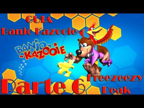 Banjo Kazooie 100%   N64   ESPAÑOL   Parte 6:  FREEZEEZY PEAK.
