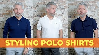 5 Ways To Style Mens Polo Shirts