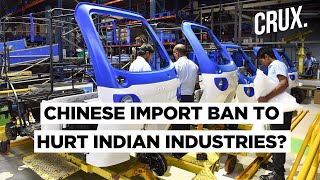 Cheap Chinese Components Fuel India Auto & Pharma Sector, Industry Raises Concern On Import Ban - Download this Video in MP3, M4A, WEBM, MP4, 3GP