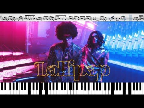 Элджей & MORGENSHTERN - Lollipop (кавер на пианино + ноты)
