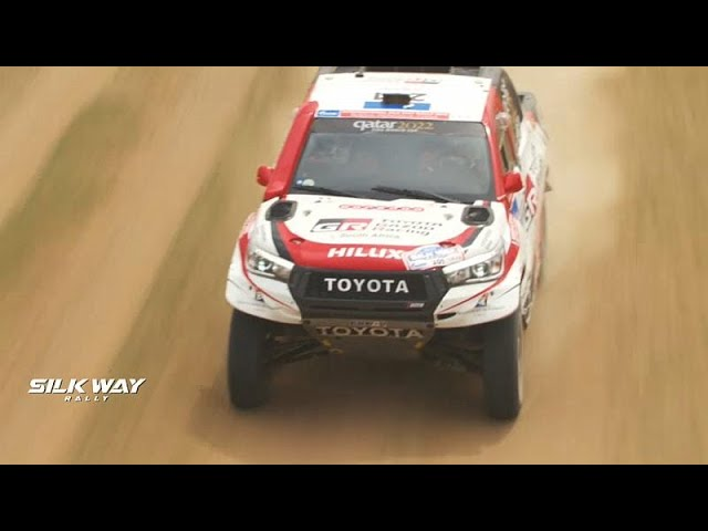 Tough fourth stage takes toll on drivers and riders at Silk Way Rally