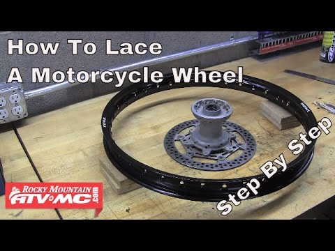 How To Lace A Motorcycle Wheel | Rocky Mountain ATV/MC