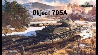 World of Tanks Replay - Object 705A, 8 kills, 6,9k dmg, (M) Ace Tanker