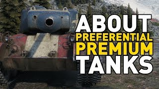About Preferential Premiums in World of Tanks