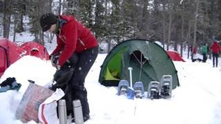 Kaufberatung Wintertrekking - Isomatte und Schlafsack