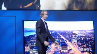 Michael Bay Panic Attack at CES 2014