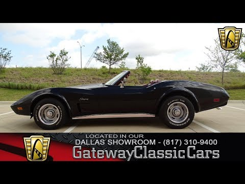Video of 1974 Chevrolet Corvette located in DFW Airport Texas - $29,995.00 Offered by Gateway Classic Cars - Dallas - LAOQ