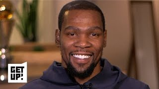 Kevin Durant wants to talk basketball, not business with the media | Get Up!
