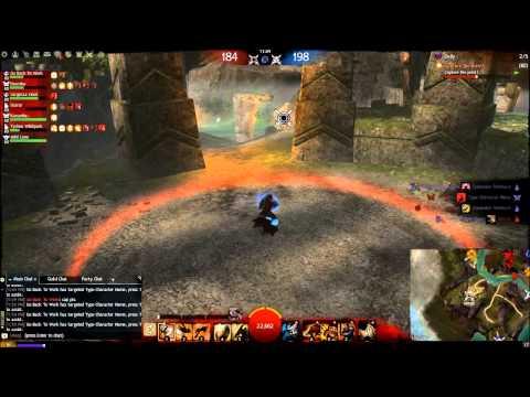 Guild Wars 2 – Warrior WvW PvP Roaming Gameplay – WvW DOMINATION