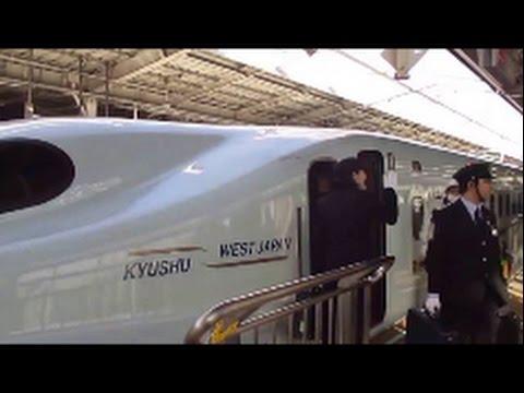 御堂筋線で新大阪へ 新幹線 女性運転士車掌さん活躍 富士山 from shinkansen Mt Fuji  Female driver conductor